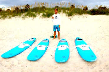 Surf Lessons in Jacksonville Beach